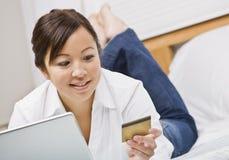 card credit woman στοκ εικόνα