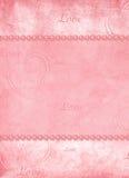 card dagvalentiner Arkivbilder