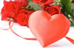card dagvalentiner Royaltyfri Foto
