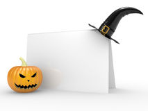 Card by day a Halloween Stock Images