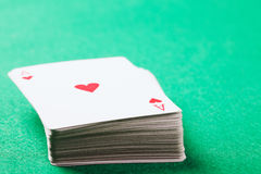 Card deck Royalty Free Stock Photography