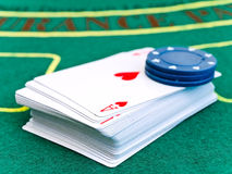 Card deck Royalty Free Stock Photo