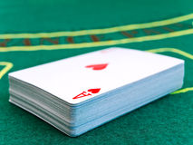Card deck Stock Images