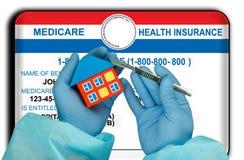 Card den medicinska Förenta staterna Arkivbilder