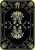 Card design. Stock Photo