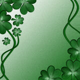 Card for design on Saint Patrick Day Royalty Free Stock Images