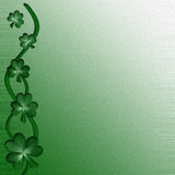 Card for design on Saint Patrick Day Royalty Free Stock Photo