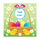 Card Easter. Royalty Free Stock Images