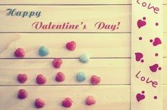 card för hälsningsillustration s för dagen eps10 vektorn för valentinen Arkivfoton