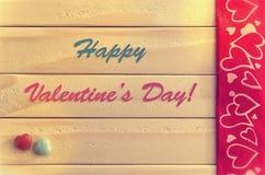 card för hälsningsillustration s för dagen eps10 vektorn för valentinen Royaltyfria Bilder