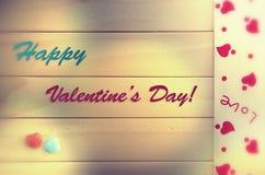 card för hälsningsillustration s för dagen eps10 vektorn för valentinen Arkivbilder