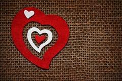 Card för valentindag Fotografering för Bildbyråer