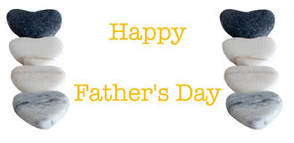 Card for a  Father`s Day Stock Photos