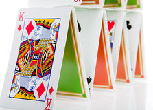 Card floor Royalty Free Stock Images