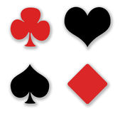 Card gambling. Royalty Free Stock Images