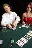 Card gambling Royalty Free Stock Photography