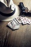 Card Gambling Royalty Free Stock Photos