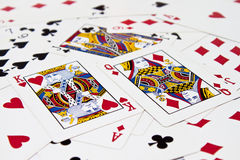 Card game Royalty Free Stock Images