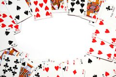 Free Card Game Frame Royalty Free Stock Images - 14379259