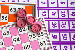 Card Game. A Card Game; Tombola Bingo Stock Image