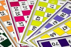 Card Game. Tombola And Bingo Stock Photos