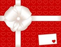 card gift hearts present Στοκ Εικόνες