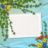 Card for greeting or congratulation Stock Photos