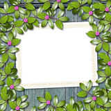 Card for greeting or invitation Royalty Free Stock Photography