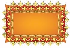 card guld- tappning Royaltyfria Foton