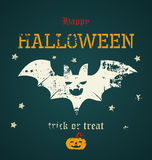 Card for Halloween Royalty Free Stock Image