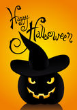 Card of Halloween Royalty Free Stock Images