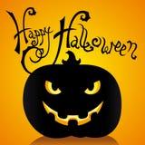 Card of Halloween Stock Photography