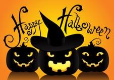 Card of Halloween Stock Photos