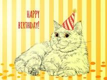 Card Happy Birthday. Stock Images