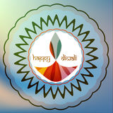 Card happy diwali festival colorful celebration background illus Stock Images