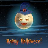 Card Happy Halloween Stock Images