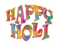 Card Happy Holi Royalty Free Stock Photography