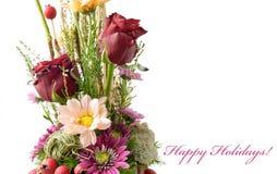 Card 'Happy Holidays!' Stock Photography