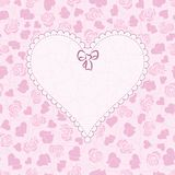 Card Happy Valentine Royalty Free Stock Images