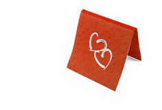 Card heart Stock Image