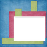 Card for holiday on the abstract background Royalty Free Stock Photography