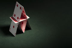 Card house Royalty Free Stock Images