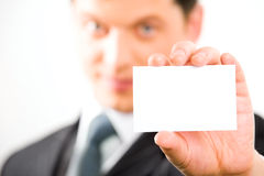 Free Card In Hand Stock Images - 4250804