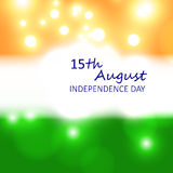 Card for India independence day Stock Photos