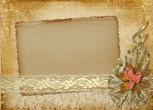 Card for invitation or congratulation Royalty Free Stock Images