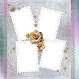 Card for invitation or congratulation Stock Photography