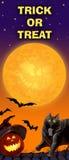 Card invitation to the celebration of Halloween. Royalty Free Stock Photos