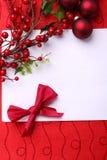 card jul Fotografering för Bildbyråer