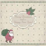 card jul claus santa stock illustrationer