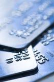 card kreditering Arkivbilder